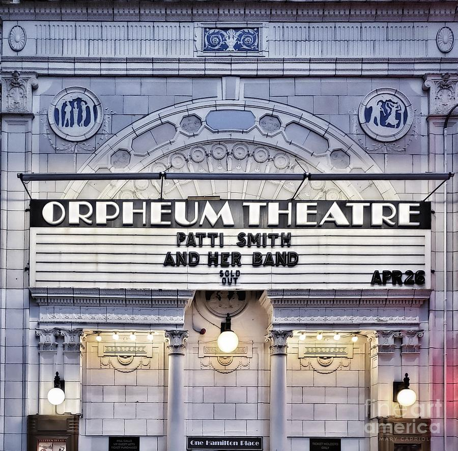 Orpheum Theater Boston by Mary Capriole