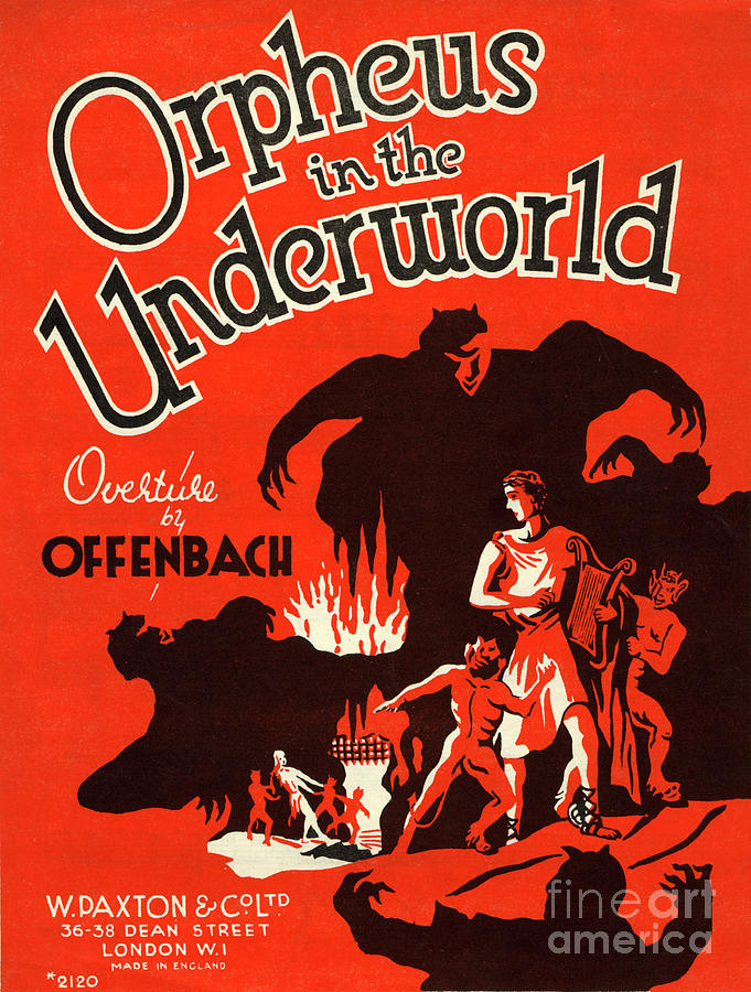 Orpheus In The Underworld Vint...