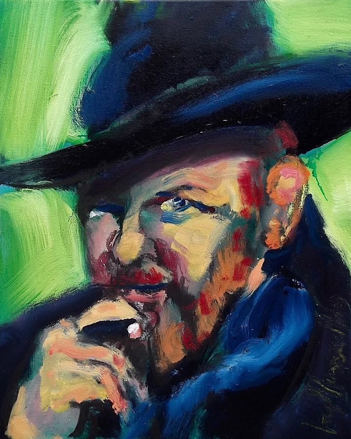 Orson Welles by Les Leffingwell