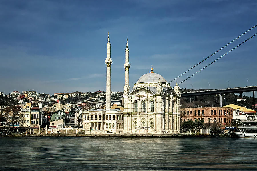Ortakoy Mosque by Maria Coulson