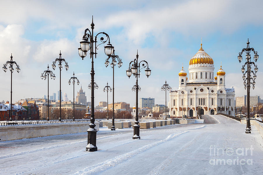 Trust Photograph - Orthodox Church Of Christ The Savior In by Chamille White