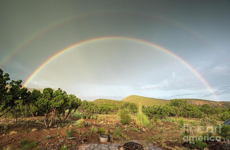 Ortiz Double Rainbow by Steven Natanson