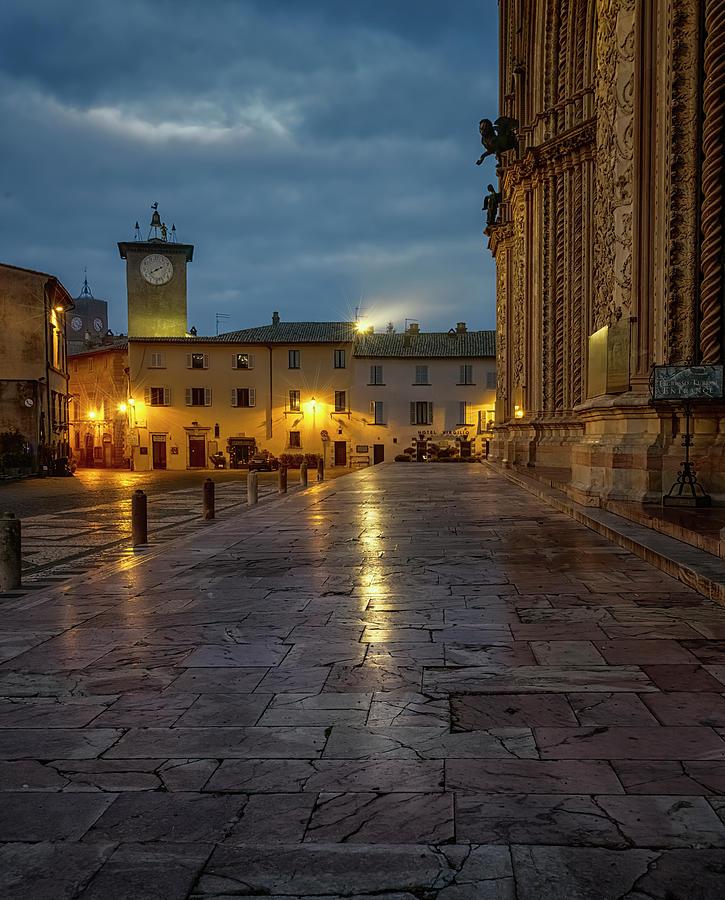 Orvieto Italy Early Morning by Joan Carroll