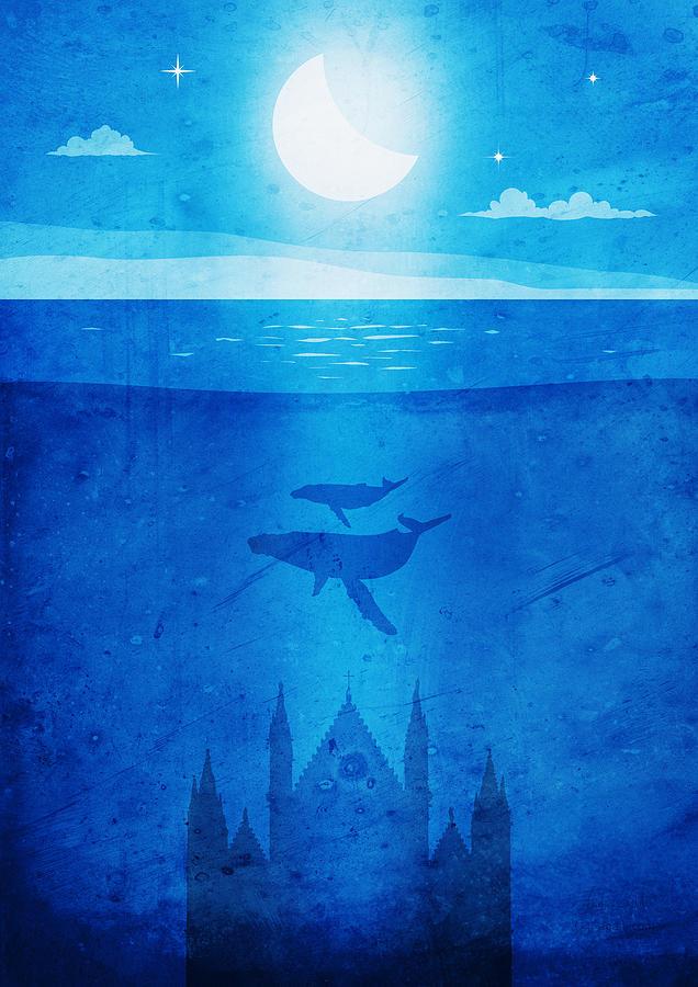 Orvieto whales dawn by Andrea Gatti
