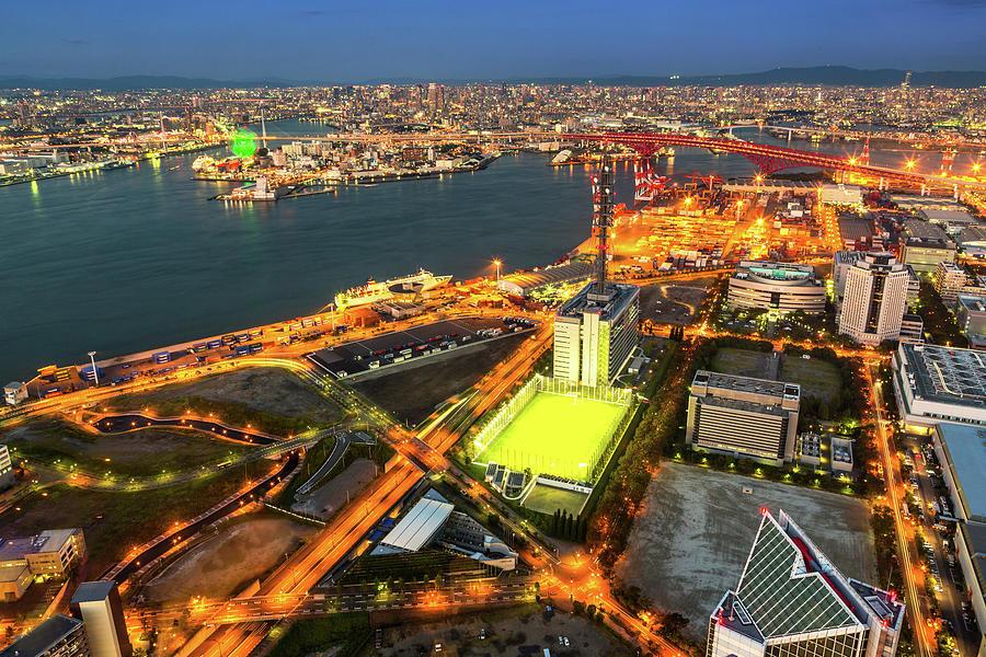Osaka Bay Photograph by Arthit Somsakul