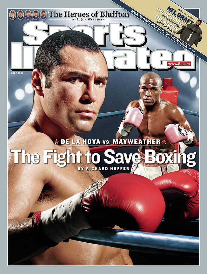 Oscar De La Hoya And Floyd Mayweather Jr, Junior Sports Illustrated Cover Photograph by Sports Illustrated