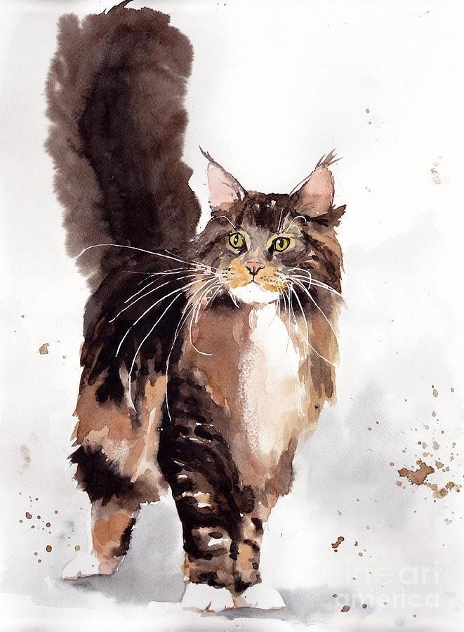 Little Painting - Oscar by Suzann Sines