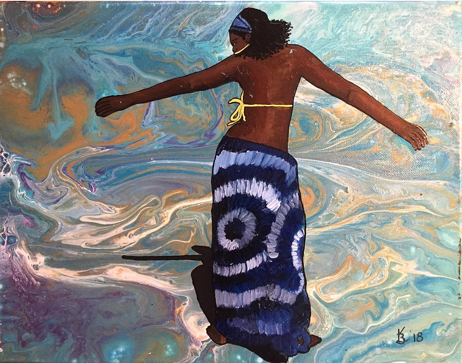 Oshun Goddess by Karen Buford