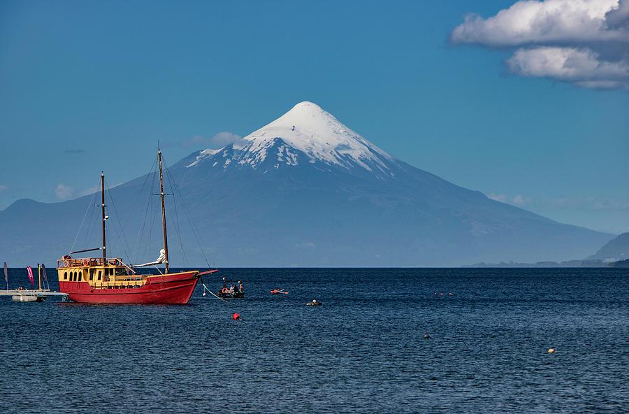 Osorno Volcano, Chile by Venetia Featherstone-Witty