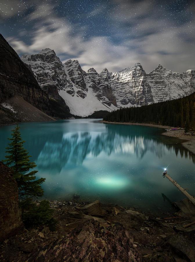 Otherworldly Moraine Lake Alberta Canada