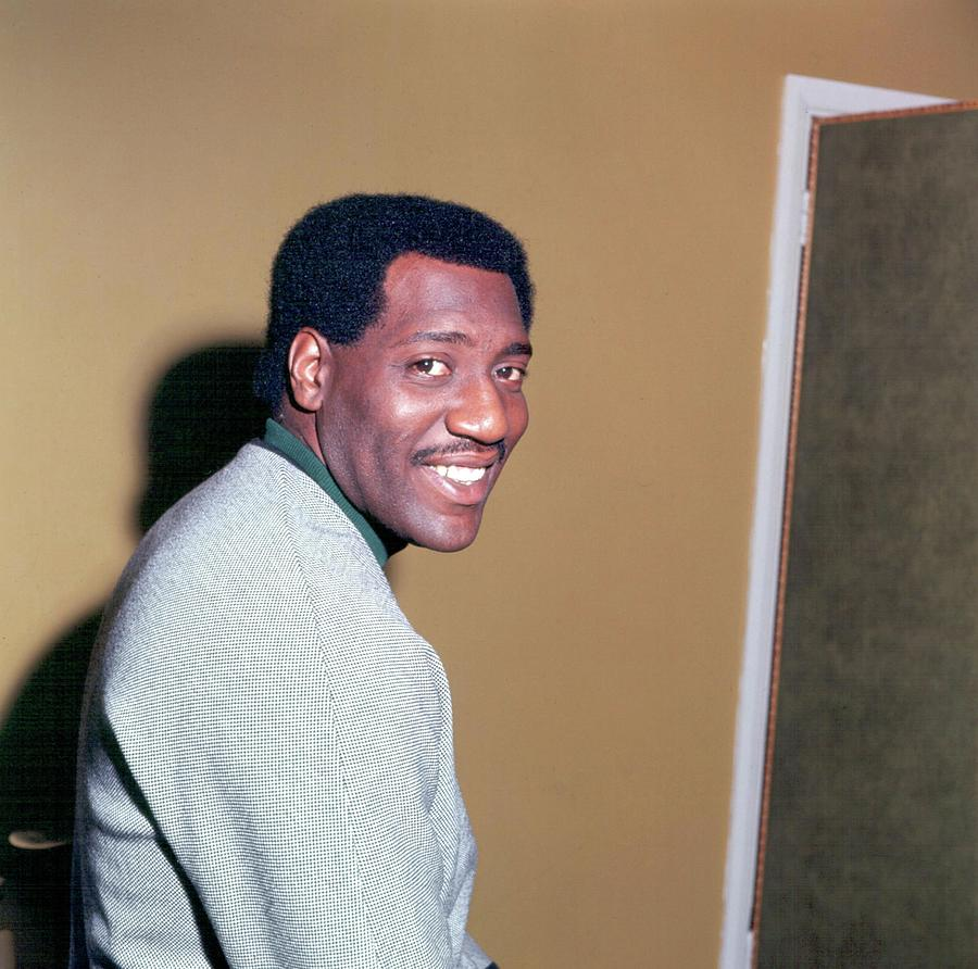 Otis Redding Portrait In England Photograph by Michael Ochs Archives