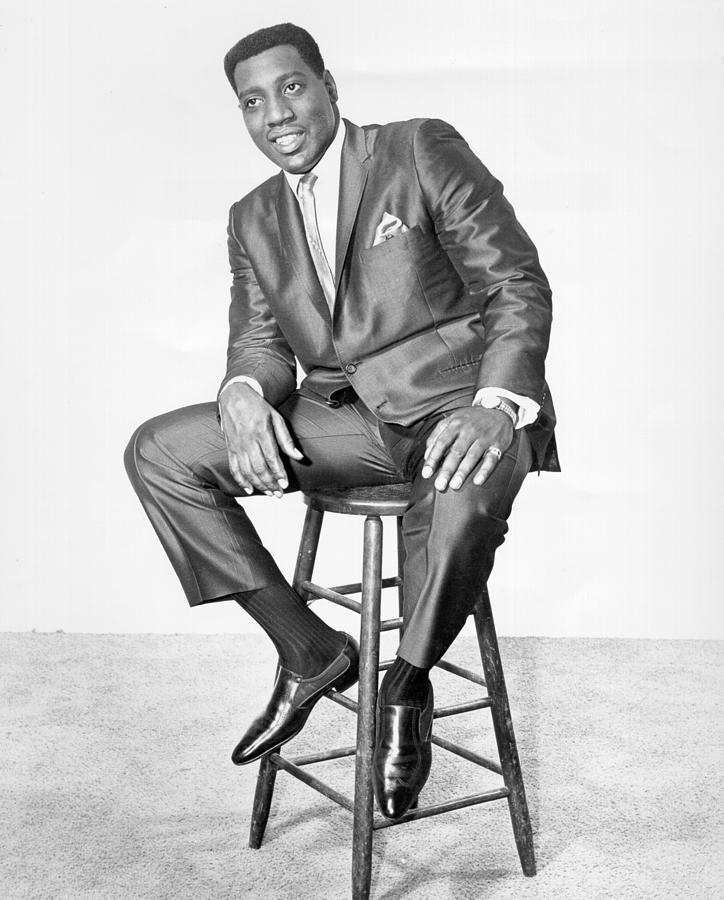 Otis Redding Portrait Photograph by Michael Ochs Archives