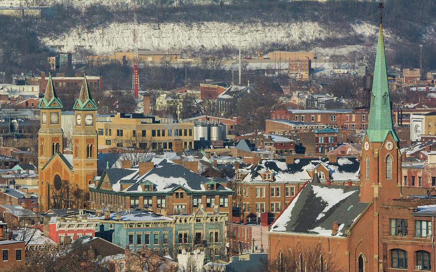 OTR Rooftops by Jim Figgins