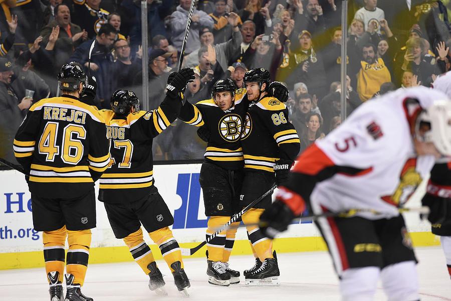 Ottawa Senators V Boston Bruins Photograph by Brian Babineau