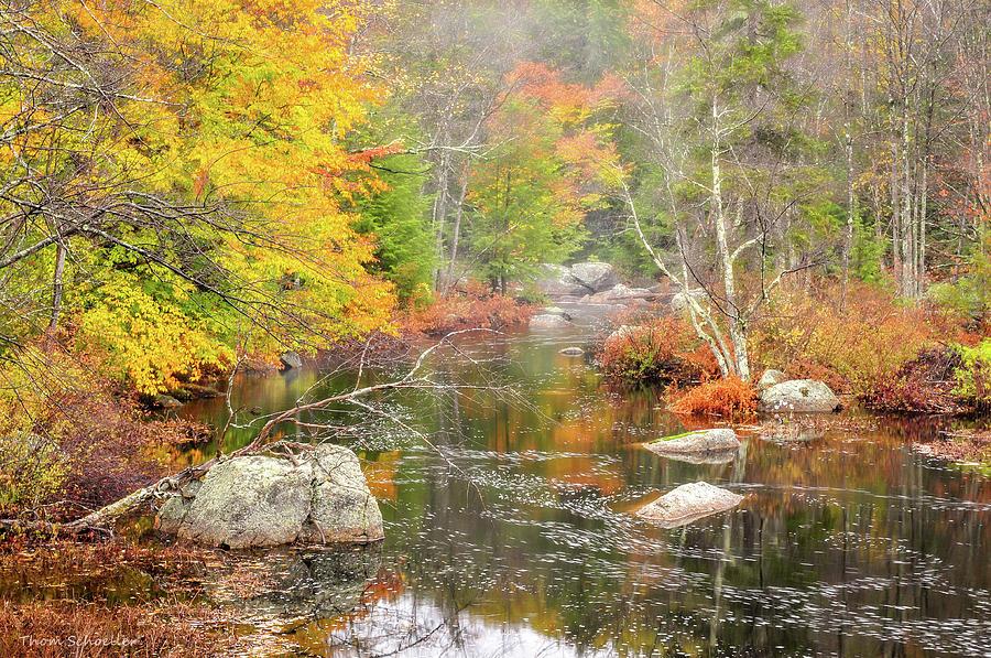 Otter Brook Preserve by T-S Fine Art Landscape Photography