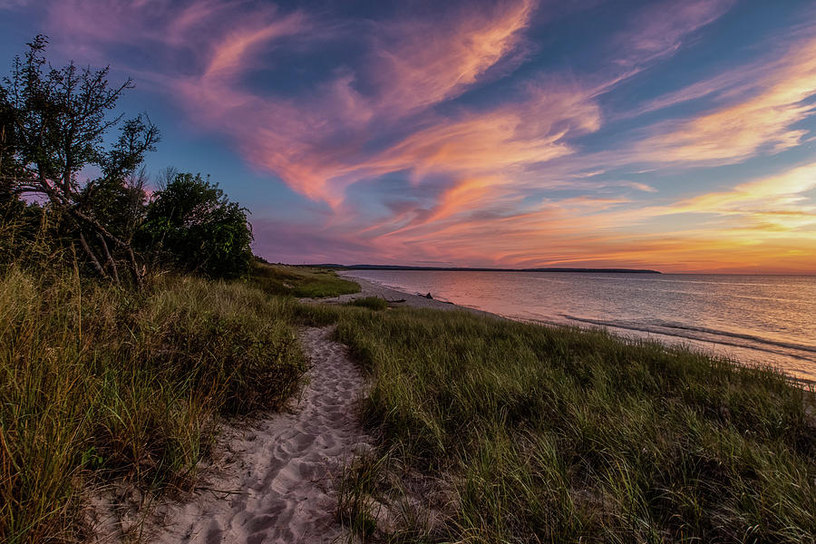 Otter Creek Sunset by Heather Kenward