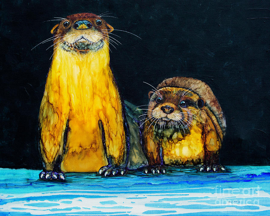 Otters R Us by Jan Killian