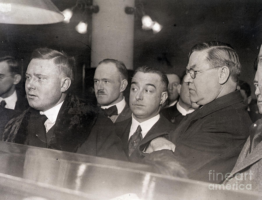Otto Christensen In Court Photograph by Bettmann