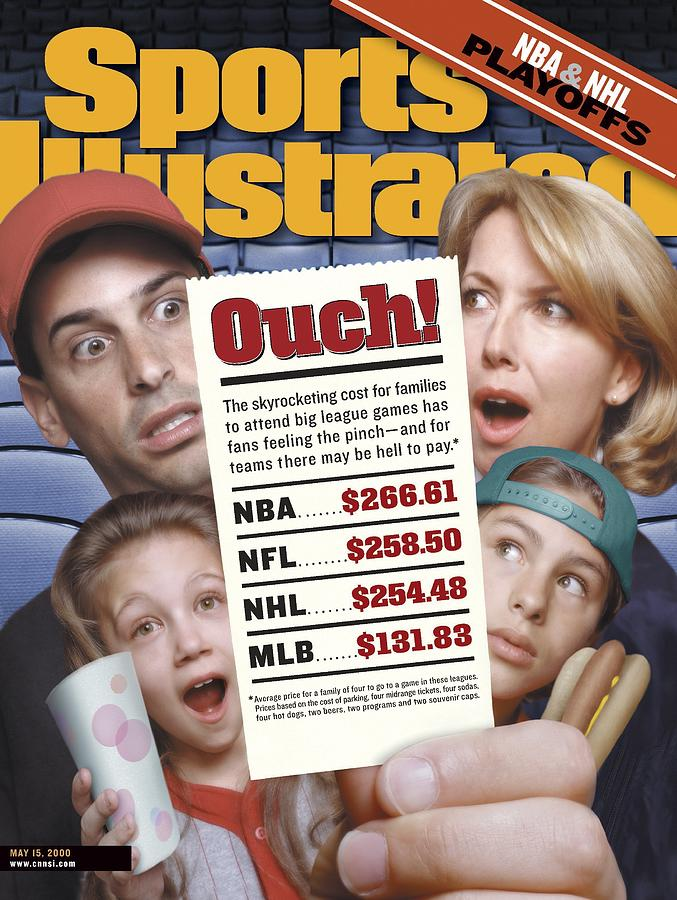 Ouch Skyrocketing Ticket Prices Sports Illustrated Cover Photograph by Sports Illustrated