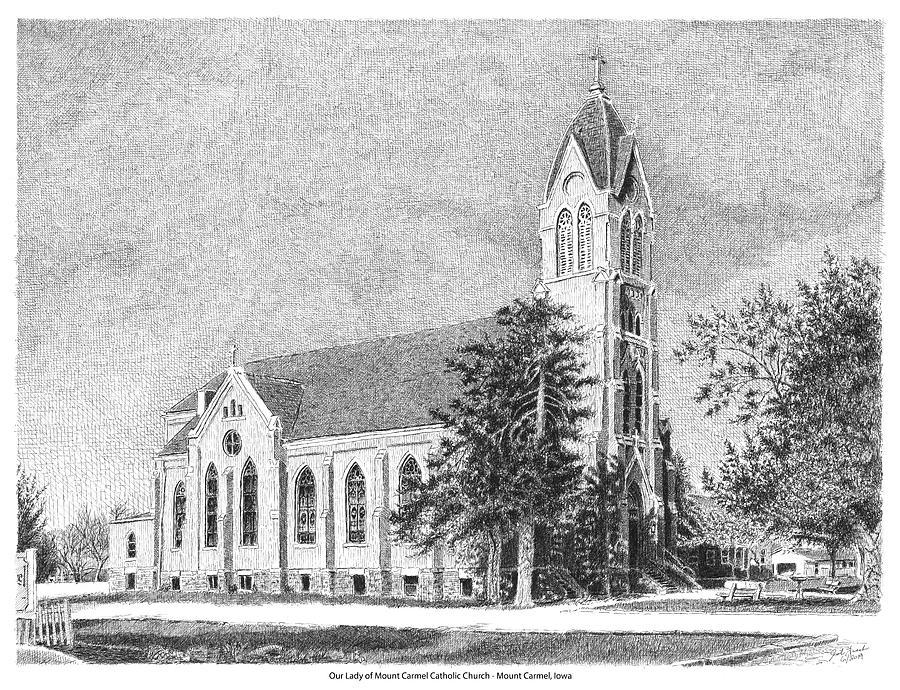 Our Lady of Mount Carmel Catholic Church by Joel Lueck