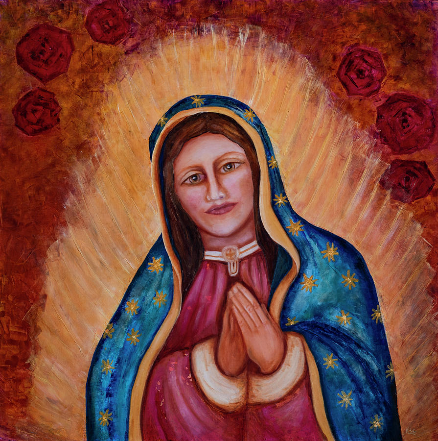 Our Lady of Quadalupe by Karen Conley
