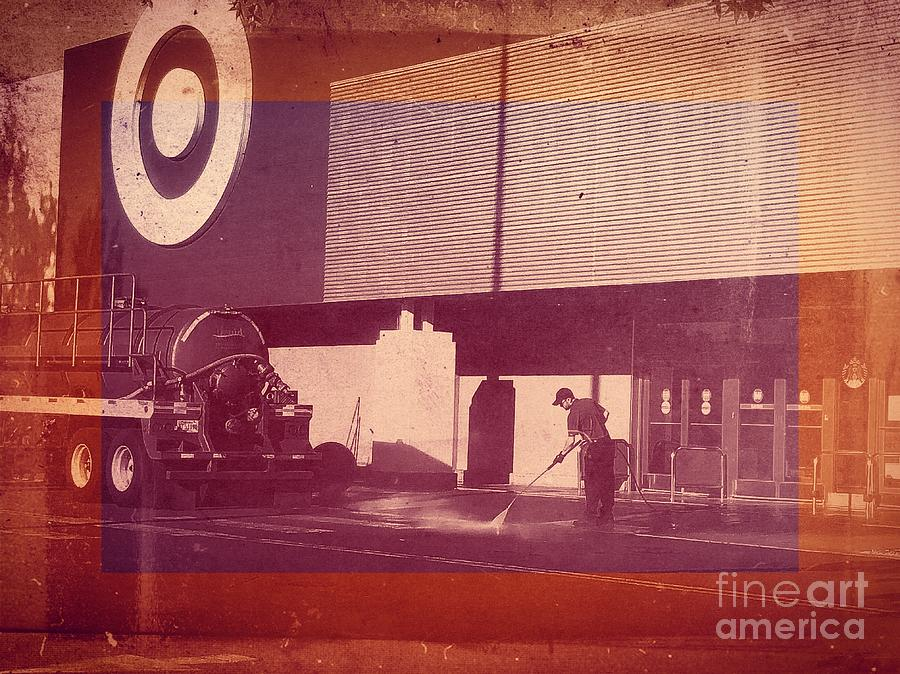 Target Digital Art - Our Values by Sharon Green