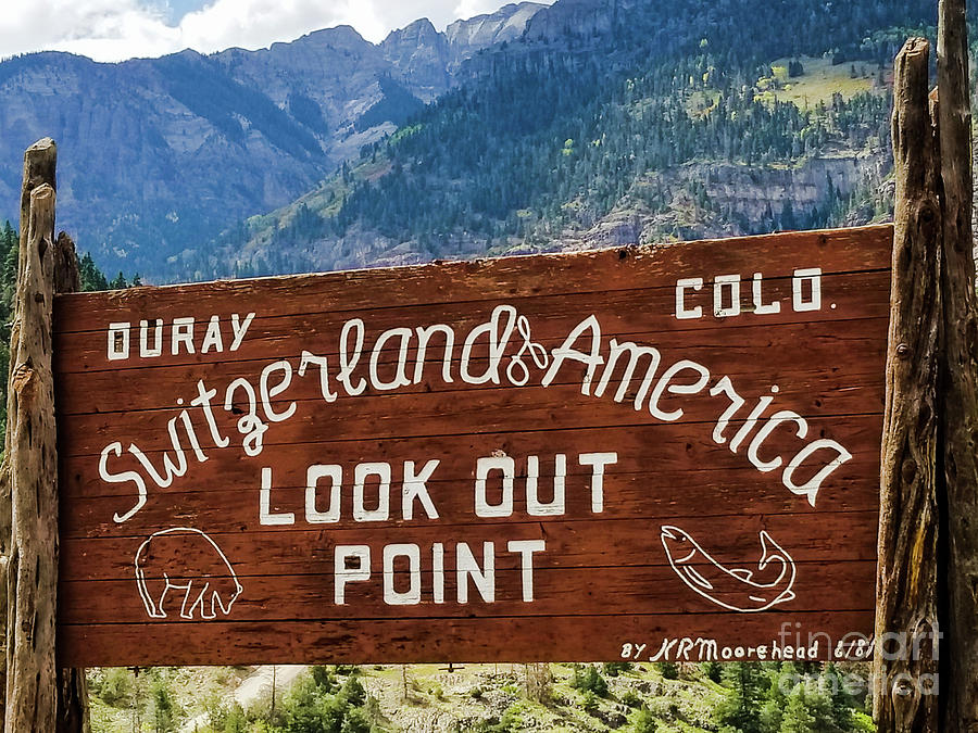Ouray, Colorado by Elizabeth M