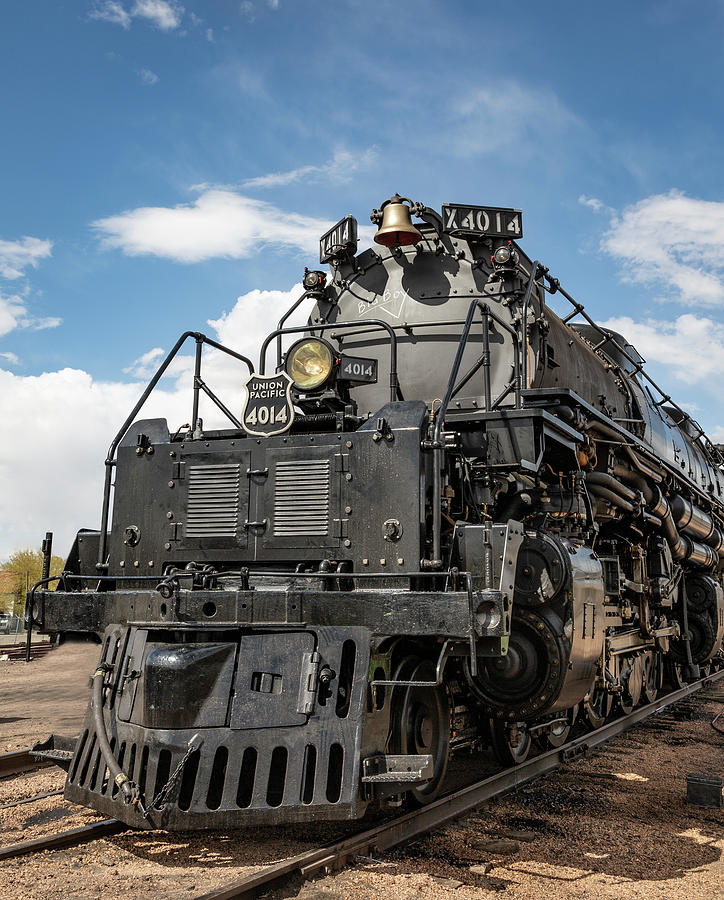 Out Of The Blue - Big Boy 4014 by Elaine Haberland