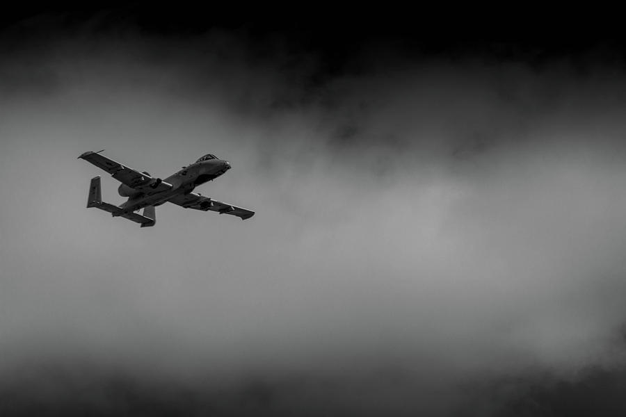 Out of the Clouds - A-10C Thunderbolt by Doug Camara