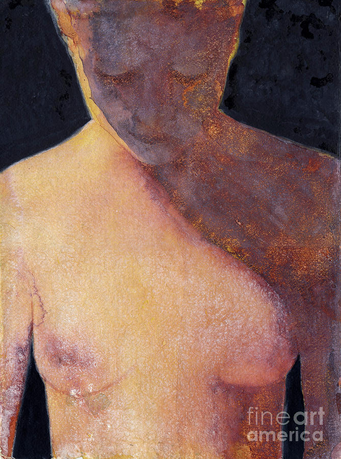 Figure Painting - Out Of The Shadow by Graham Dean