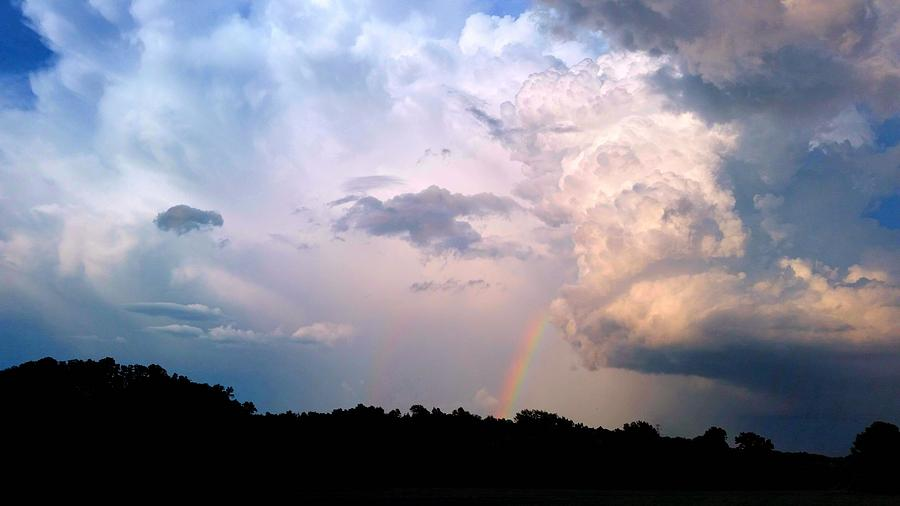Weather Photograph - Out Of The Storm  by Ally White