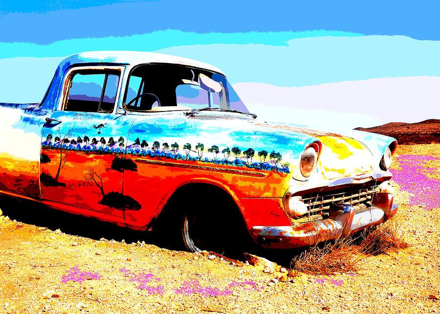Outback Australia Car by Lexa Harpell