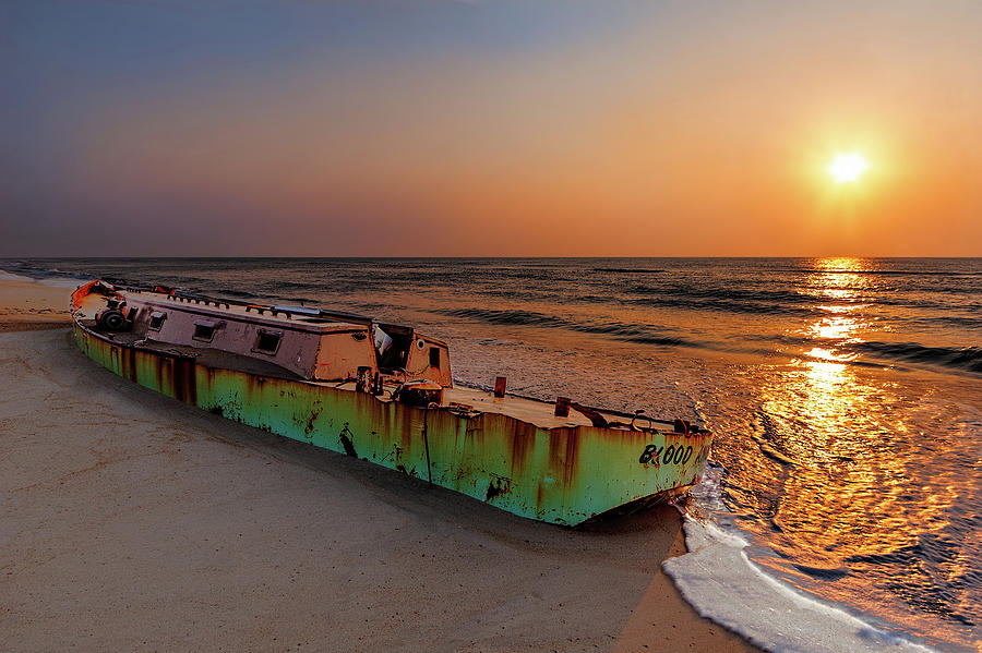 Outer Banks Late Sunrise on the Marooned by Dan Carmichael
