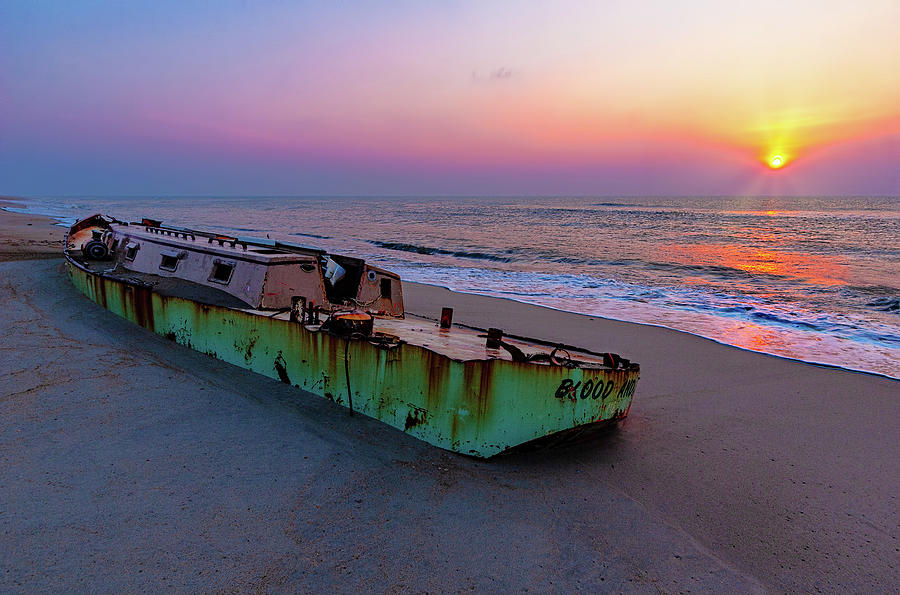 Outer Banks Sunrise on the Marooned by Dan Carmichael