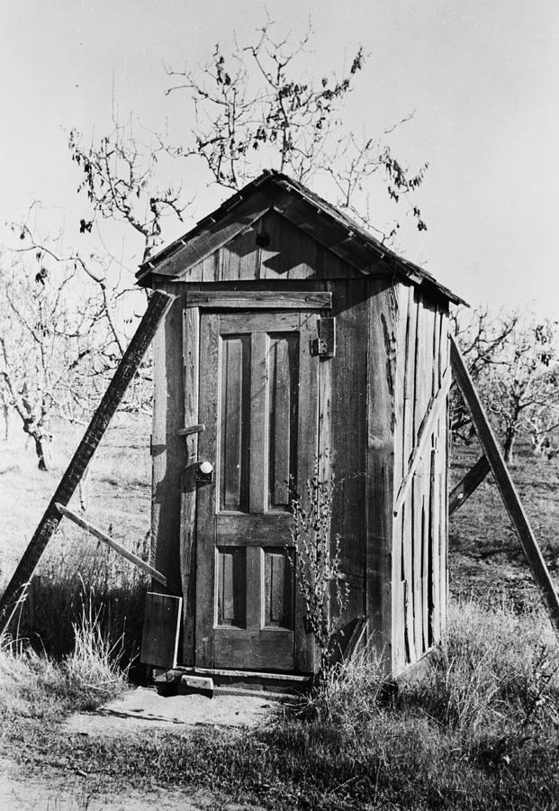Outhouse On A Farm Photograph by Bettmann