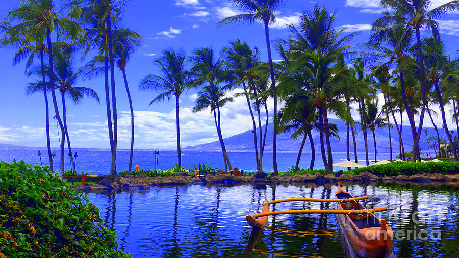 Outrigger Hawaii Photograph by Todd Hummel