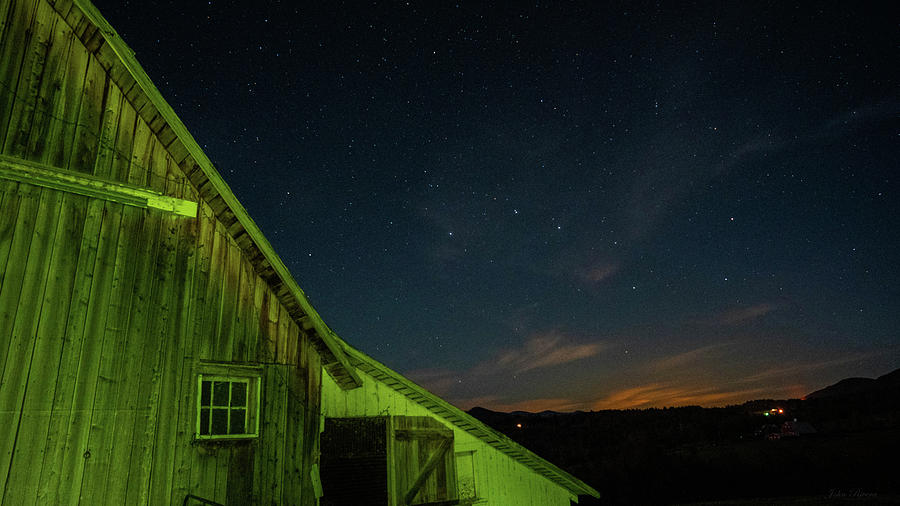 Outside above the Barn by John Rivera