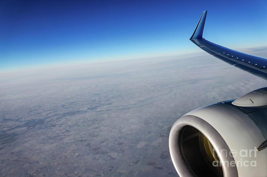 Travel Photograph - Over The Sky by Viktor Birkus
