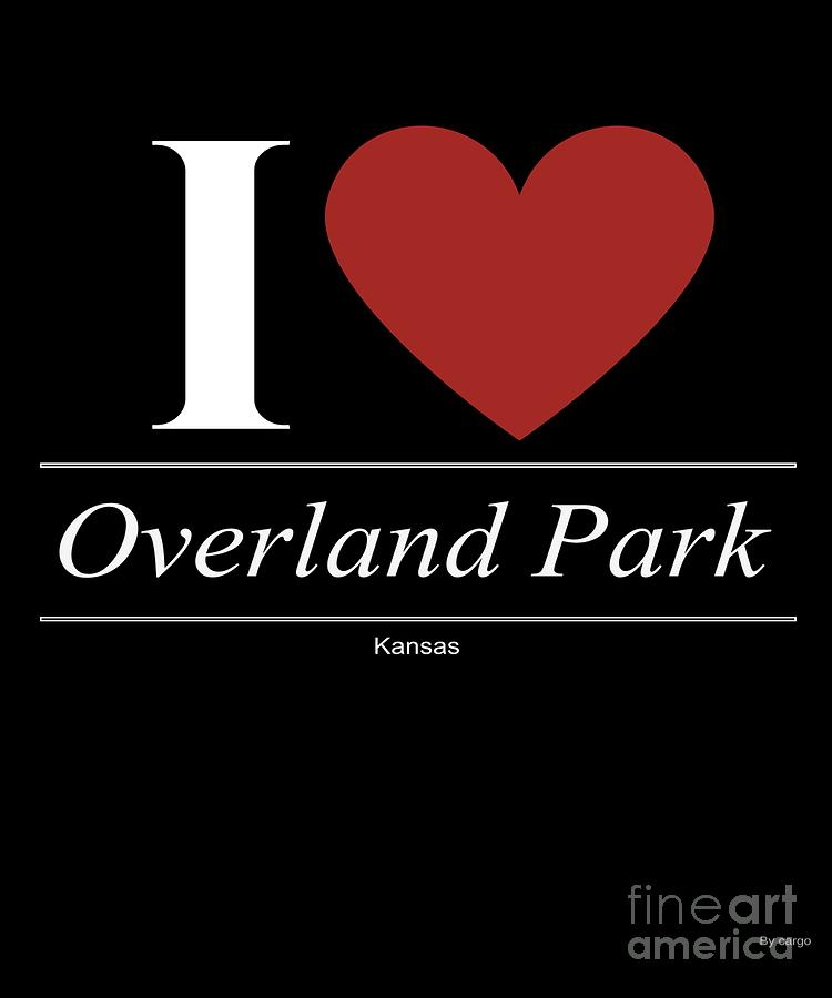 American Digital Art - Overland Park Kansas Ks Kansan by Jose O
