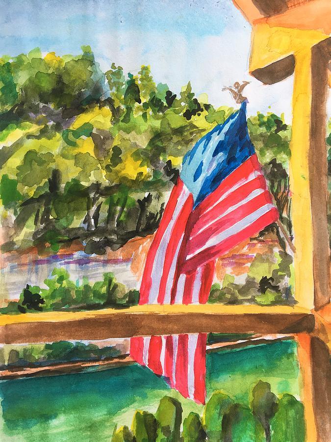 Overlooking the Caney Fork by Susan Elizabeth Jones