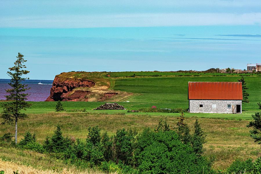 Overlooking the Northumberland Strait by Douglas Wielfaert