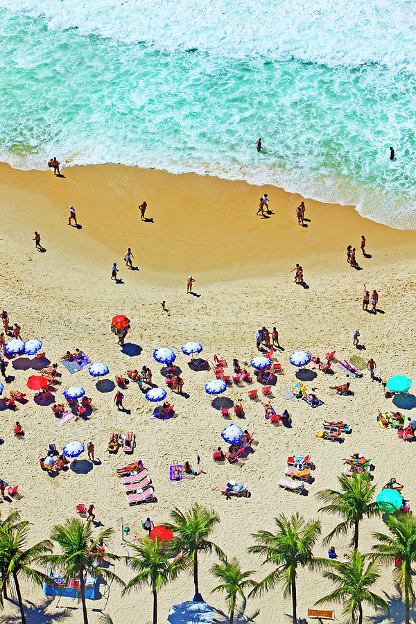 Overview Of Beach Photograph by John W Banagan