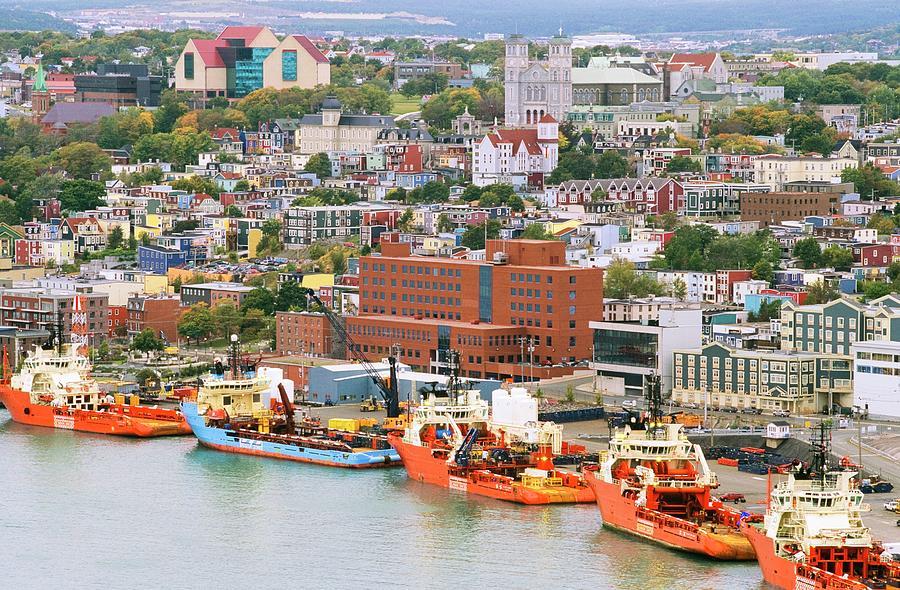 Overview Of Historic Saint Johns Photograph by Bilderbuch