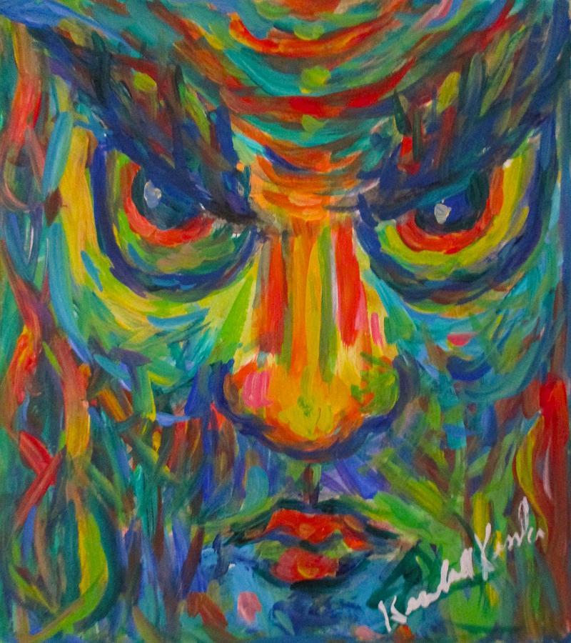 Owl Man by Kendall Kessler