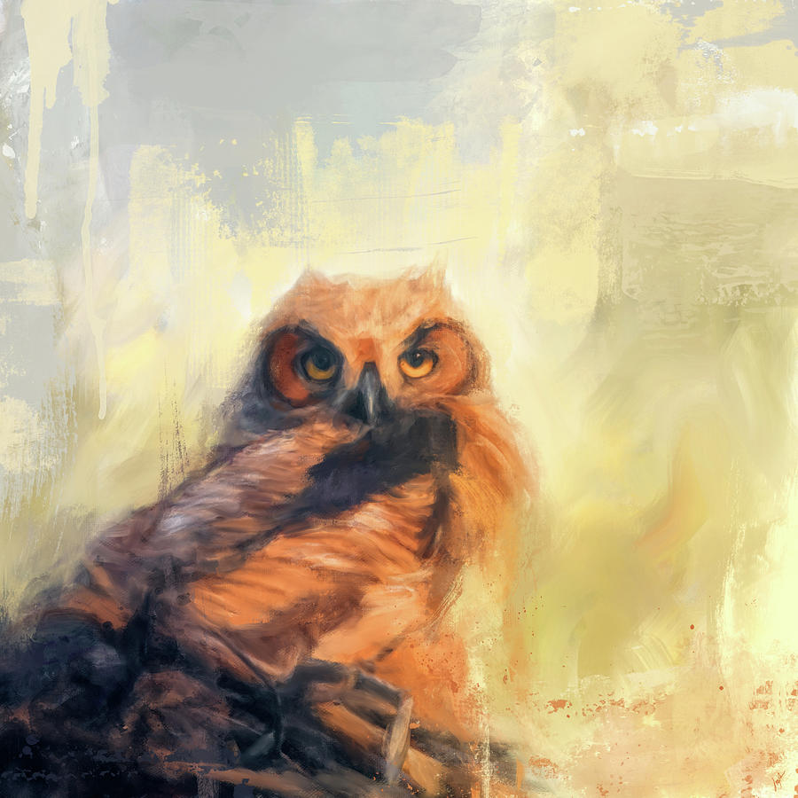 Owlet By The Beach by Jai Johnson