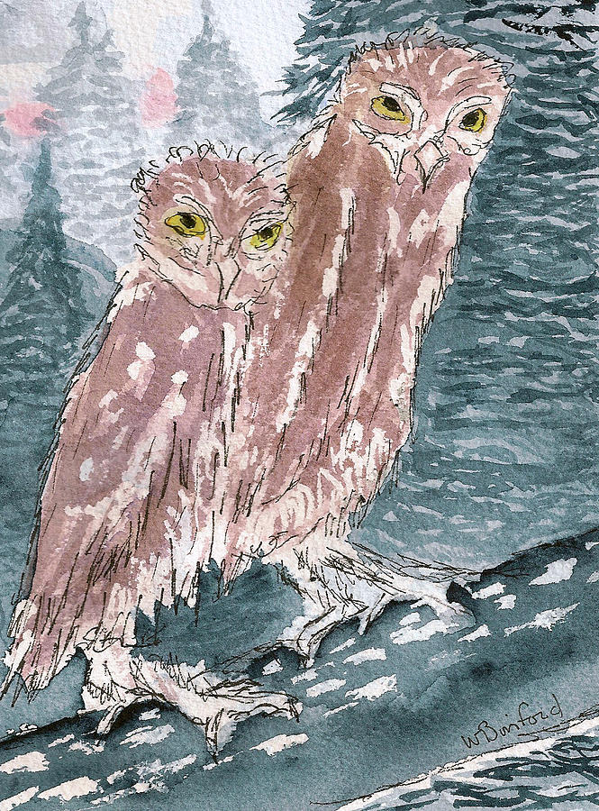 Owls by Wade Binford