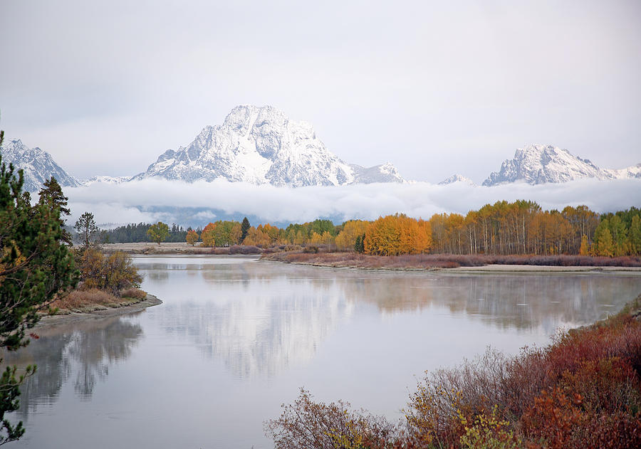 Oxbow Bend in the Tetons by Jean Clark