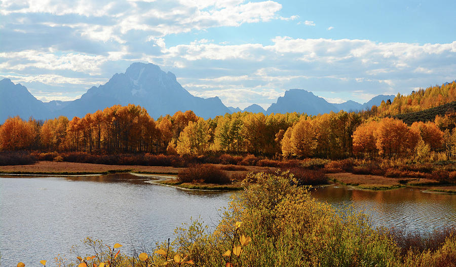 Oxbow in Autumn by Whispering Peaks Photography