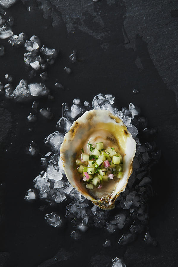 Oyster On The Half Shell Photograph by Cuisine at Home