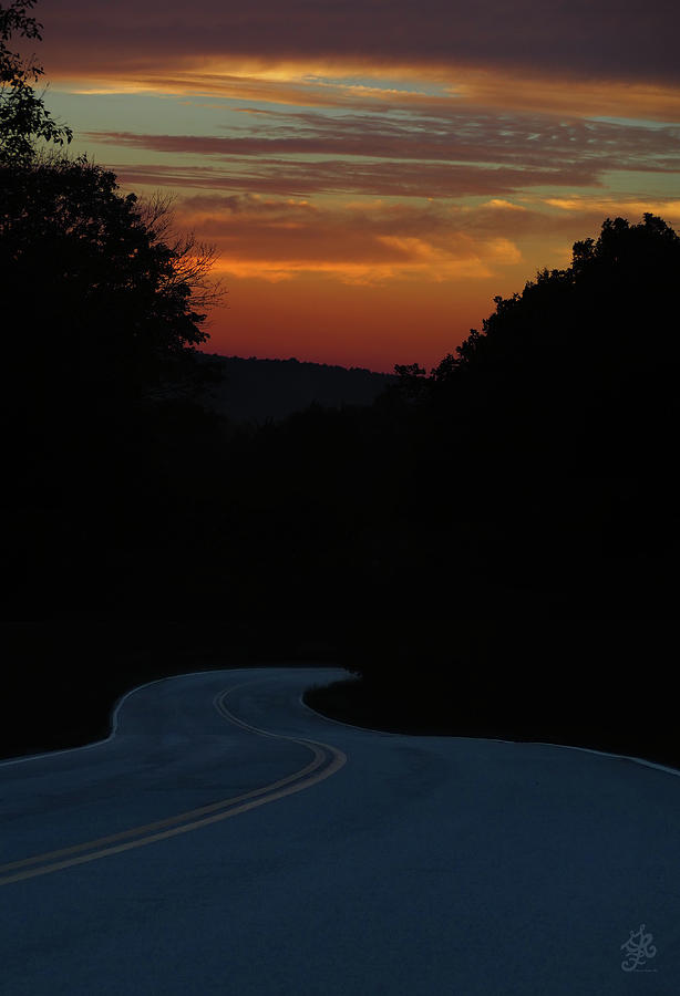 Ozark Hill Driving by Ginger Repke